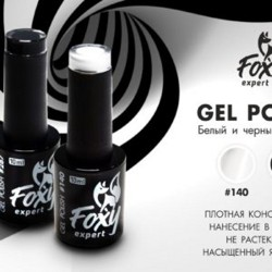 Foxy Expert, Gel polish #140, 10 ml белый