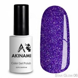 AKINAMI Гель-лак Color Gel Polish - Star Glow 06