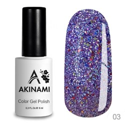 AKINAMI Гель-лак Color Gel Polish - Disco 03