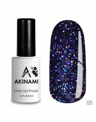 AKINAMI Гель-лак Color Gel Polish - Disco 05