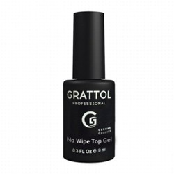 Grattol ТОП без липкого слоя UV NO WIPE Top GEL 9ml